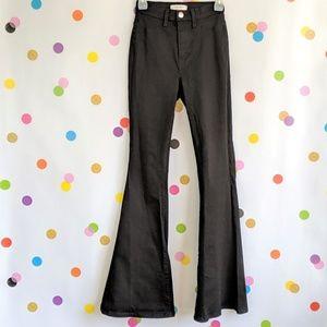 Vibrant M.i.U Black Flare Jeans